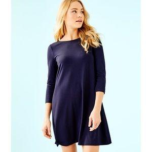 NWOT Lilly Pulitzer Navy Ophelia Dress